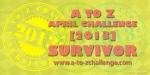 A to Z Survivor Badge 2013