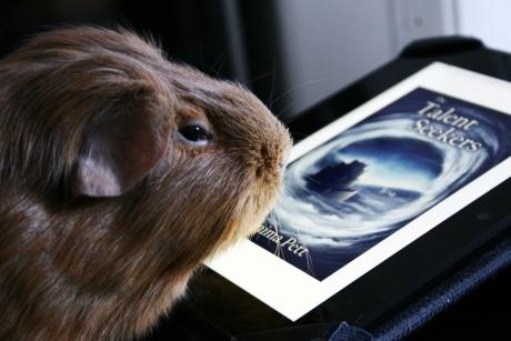 Bertie reads Talent Seekers
